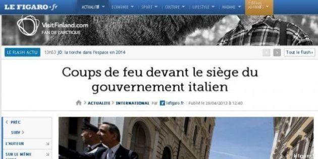 Sparatoria Palazzo Chigi, da Le Monde a Wsj e Argentina notizia in apertura