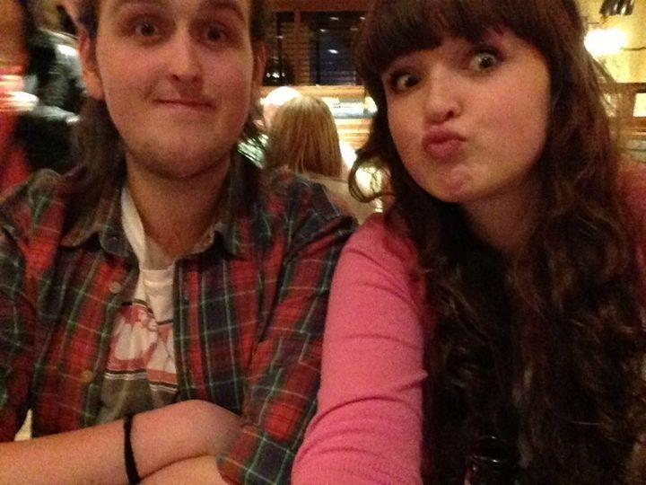 Phoebe et son frère Angus
