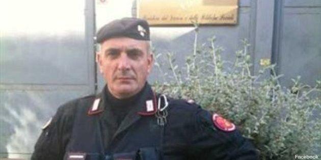 Il brigadiere ferito:Giuseppe Giangrande, in forza al battaglione Toscana, squadra