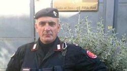 Il brigadiere ferito:Giuseppe Giangrande, in forza al battaglione Toscana, squadra antisommossa. Vedovo da due
