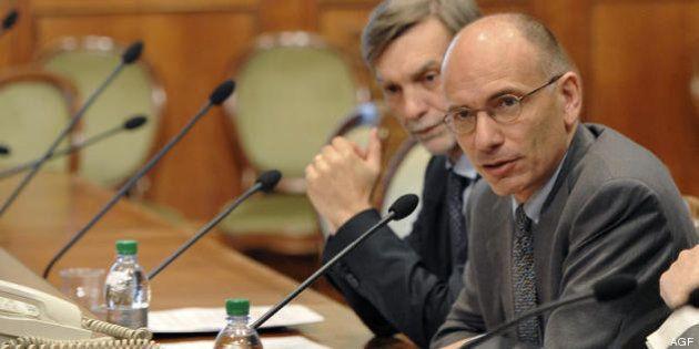 Governo Letta: taglio fondi partiti in