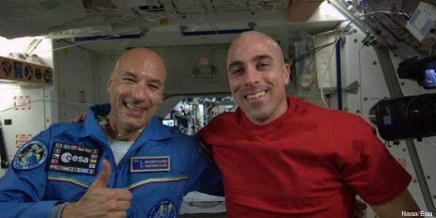 Luca Parmitano: prima foto dallo spazio dell'astronauta italiano.