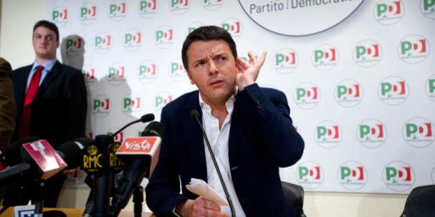 E Matteo Renzi prende il caffè con Silvio Berlusconi al Nazareno. Ma c'è l'accordo: ispanico corretto...