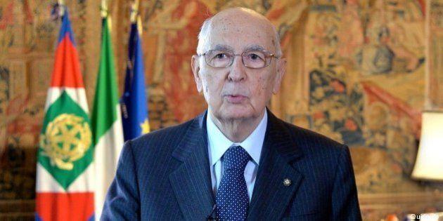 Legge elettorale, Giorgio Napolitano: