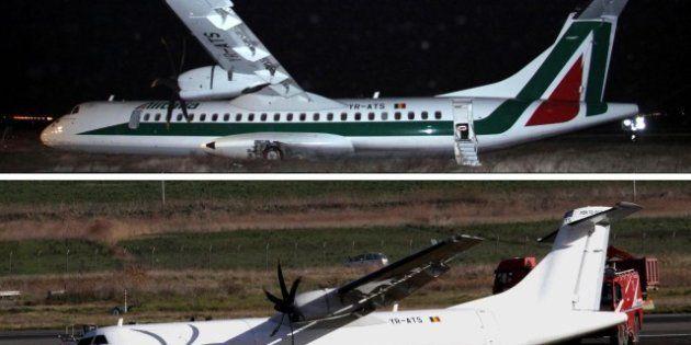 Incidente aereo a Roma: Alitalia: