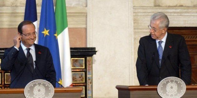 Incontro bilaterale Italia Francia. Francois Hollande: