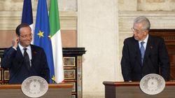 Incontro Monti con Hollande:
