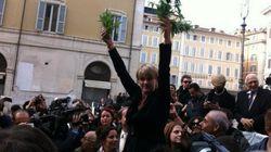 Marijuana davanti a Montecitorio, la protesta dei radicali
