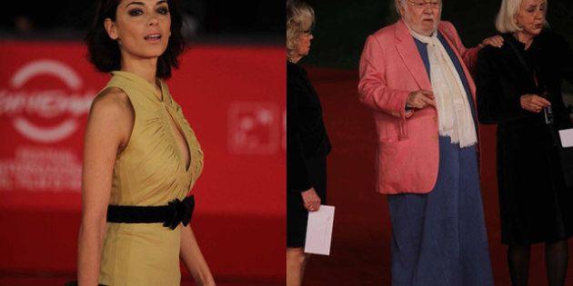Festival internazionale del Cinema di Roma, primo red carpet con Paolo Villaggio stravagante e la classe...