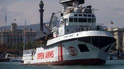 Para llevar ayuda, no para rescatar: El Open Arms vuelve a la mar tras cien días