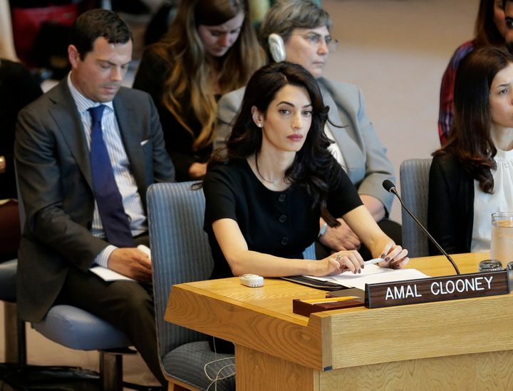 The council voted after hearing briefings from Nobel Peace Prize winners Nadia Murad, an Iraqi Yazidi woman who was held as a