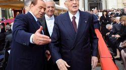 Silvio Berlusconi festeggia per le parole di Napolitano e prepara la partita sul Quirinale: