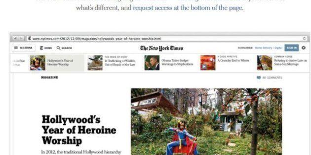 Il New York Times si rifa il look... 'smart' e
