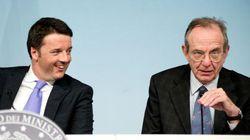 Renzi senza slide ma con Padoan: così il ministro dell'Economia