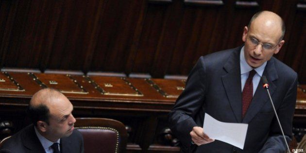 Il discorso integrale di Enrico Letta alla Camera