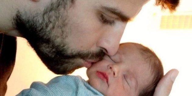 Ecco la prima foto di Milan il figlio del calciatore Gerard Piqué e della popstar Shakira