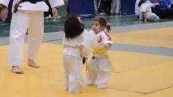 Baby judo, il combattimento fa sorridere il cuore