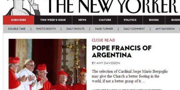 Papa Francesco: l'elezione del nuovo pontefice sui giornali stranieri