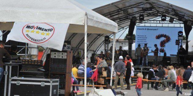 M5s, la festa della repubblica grillina fa flop: solo 300 partecipanti: