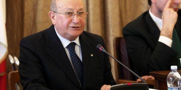 Inaugurazione dell'anno giudiziario, il presidente della Corte dei Conti Luigi Giampaolino: