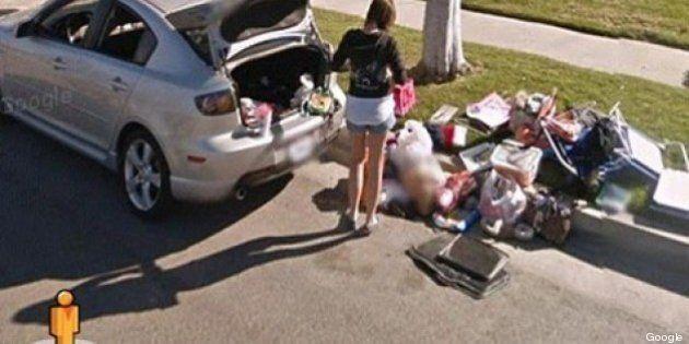 Google Street View: cacciata di casa dal compagno e fotografata