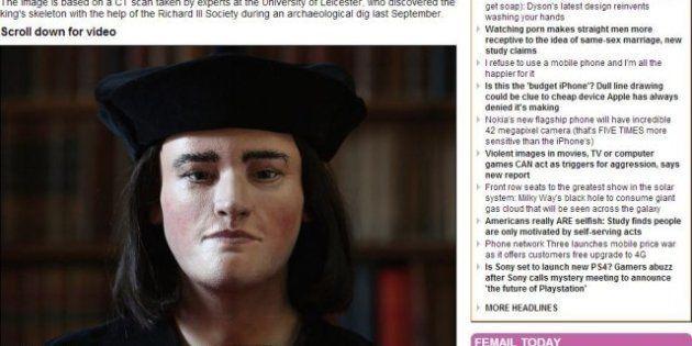 Teschio di Riccardo III: ecco il volto del re ricostruito a computer in 3D (FOTO,