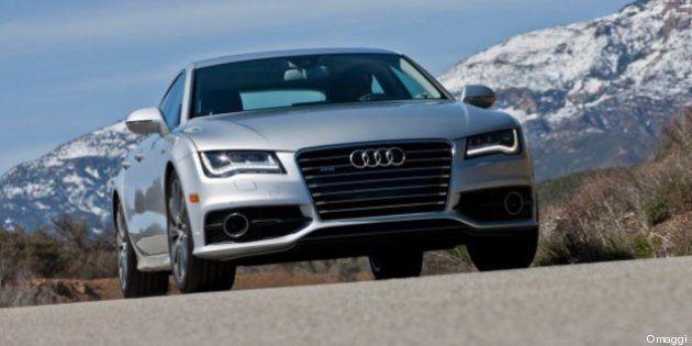 Un'Audi A7 alimentata da fuel cell, le cellule a