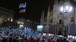 Bersani, Monti, Berlusconi comincia la campagna di