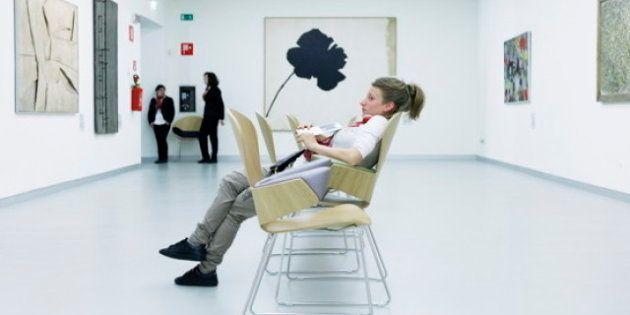 Alberto Bernasconi: quando il visitatore del museo è più interessante dell'opera d'arte