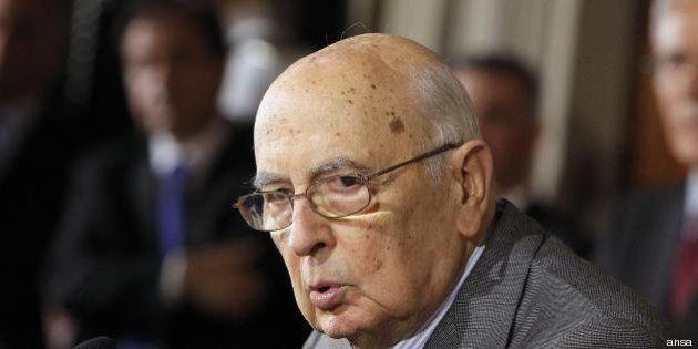 Quirinale: il presidente Giorgio Napolitano riduce le indennità dei suoi collaboratori