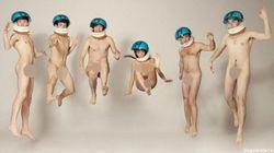 Impiegati a nudo (FOTO,