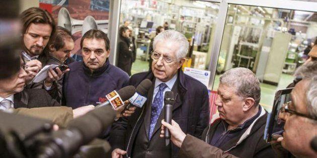 Elezioni 2013: Mario Monti detta a Pier Luigi Bersani le condizioni dell'alleanza post voto: