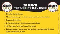 Lettera di Grillo agli italiani: