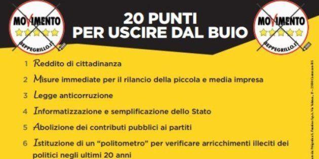 Elezioni 2013, Beppe Grillo scrive una lettera agli italiani: