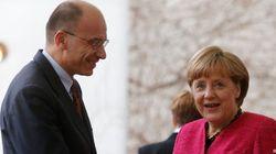 Governo, incontro tra Letta e la cancelliera Merkel a