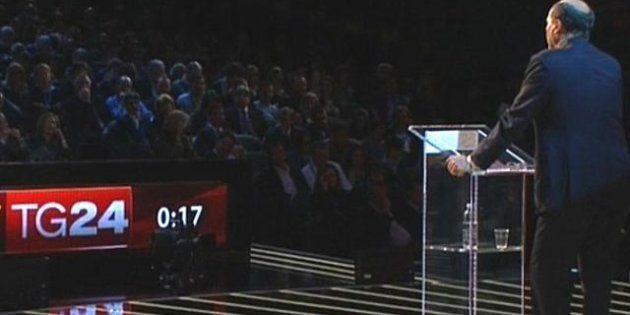 Primarie 2012 centrosinistra, il confronto realizzato da Fremantle Italia, la stessa casa di X Factor...