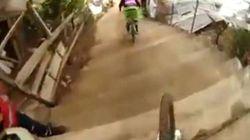 Downhill: la folle corsa in mountain bike per le strade di Taxco
