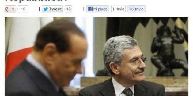 Blog Beppe Grillo, Massimo D'Alema Presidente della Repubblica? Il Pd è impresentabile: