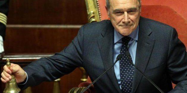 Pietro Grasso, presidente del senato 2.0. Lancia un sito per la Costituente della giustizia e presenta...