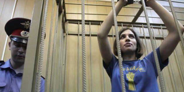 Le Pussy Riot fanno ricorso contro Putin alla Corte europea dei diritti dell'uomo, due sono ai lavori...