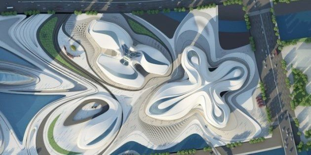 International Culture & Art Centre: il centro culturale ideato da Zaha Hadid che sembra un fiore