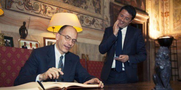 Matteo Renzi Enrico Letta: primo duello in contemporanea (ma a distanza) alla festa del Pd