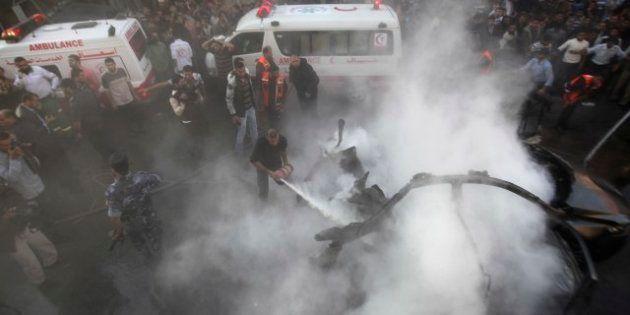 Israele uccide leader Hamas e inizia a bombardare. L'organizzazione palestinese: