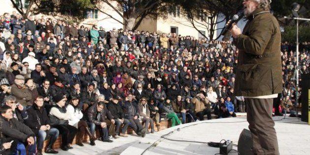 Elezioni 2013: intervista a Beppe Grillo: