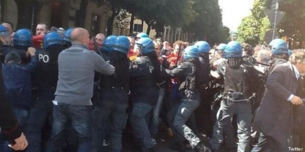 Leopoldo Di Girolamo sindaco di Terni manganellato: Miguel Gotor