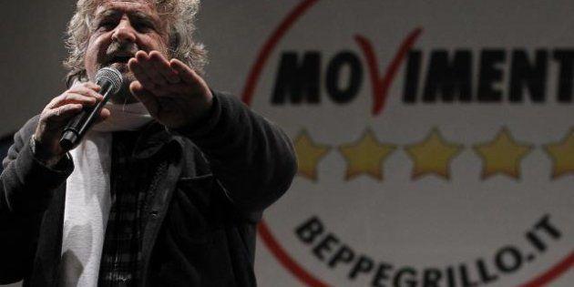 M5s, Beppe Grillo, Roberta Lombardi e Vito Crimi alle consultazioni al Colle da Napolitano. Al Quirinale...