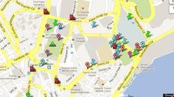 Gezi Park, Istanbul. Google Maps strumento strategico della