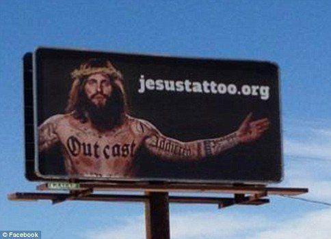 Lo scandalo del Gesù tatuato (e quello del museo