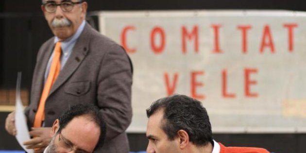 Regionali Lazio 2013, Sandro Ruotolo si rifiuta di dare la mano a Simone di Stefano (CasaPound):