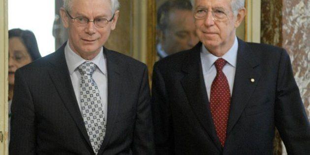 Ue, raggiunto l'accordo sul bilancio 2014-2020. Monti: l'Italia risparmierà circa 500 milioni